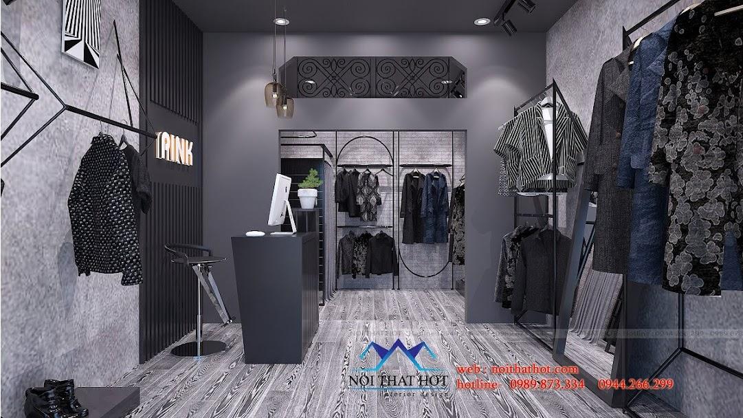 thiết kế shop thời trang nữ cá tính 5