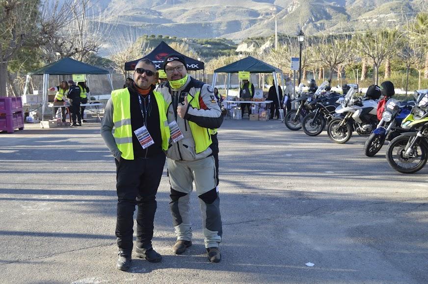 Organizadores del Motoclub gaditano.