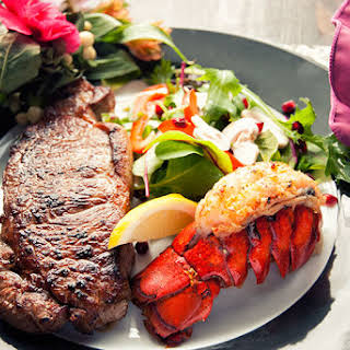 Surf And Turf Dinner.