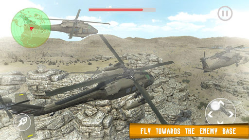 Apache Helicopter Air Fighter -Moderne Heli Attack  captures d'écran 2