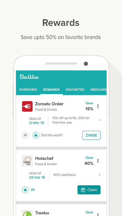 BeeWise #1 Money Saving App- screenshot