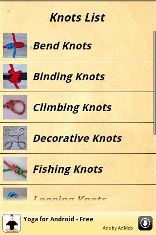 Knots Guide screenshot 1