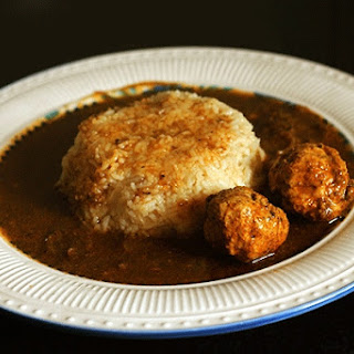 Anglo- Indian Meatball Curry.