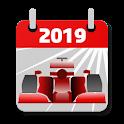 Racing Calendar 2019 (No Ads) icon
