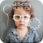 Doodle Shape and Color Art Photo Editor icon