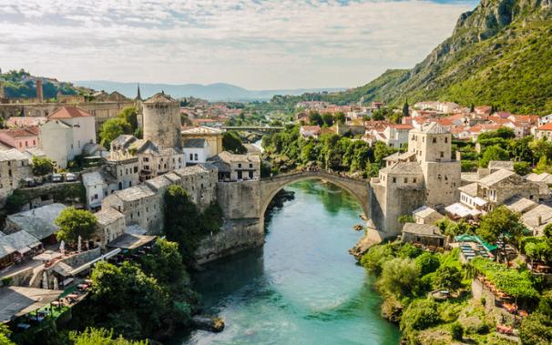 Férias românticas em Mostar