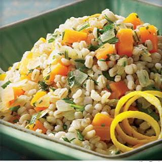 Butternut & Barley Pilaf Recipe