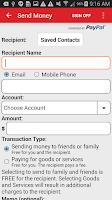 Screenshot of Tech CU Mobile Banking