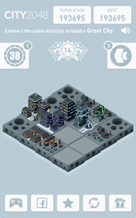 City 2048 Screenshot