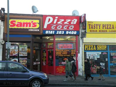 Pizza Go Go On Church Road Pizza Takeaway In Hendon