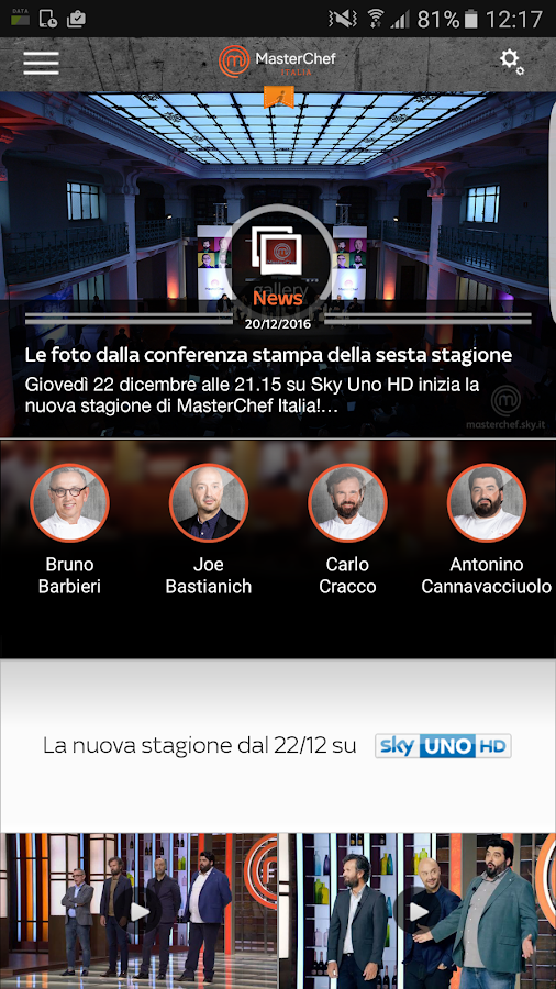 MasterChef Italia- screenshot