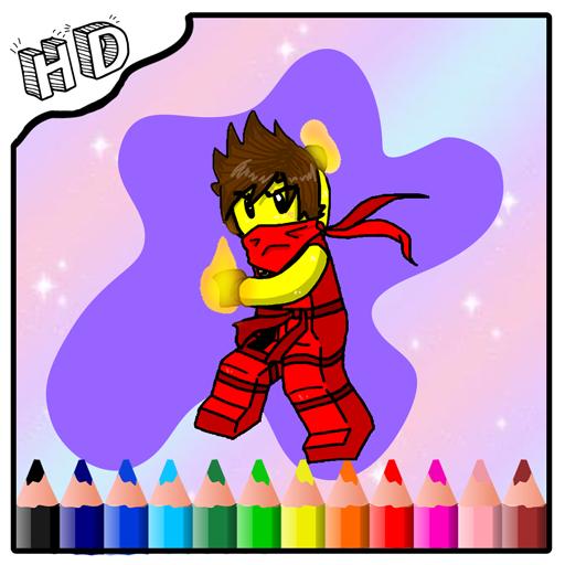 How to Coloring Ninjago Game