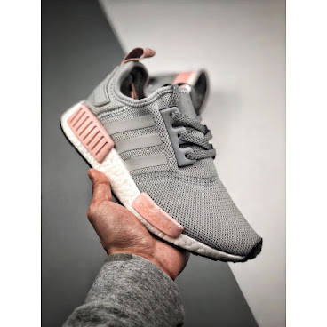 Adidas NMD R1 (Grey/Pink)