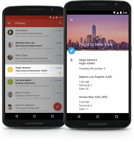 Save time planning business travel and more with events from Gmail on Google Calendar