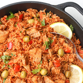 One Pot Spanish Chicken and Rice Recipe