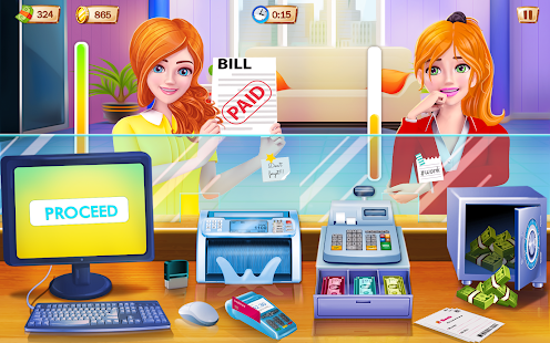 Game Bank Cashier and ATM Machine Simulator APK for Windows Phone