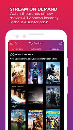 Redbox – Rent, Watch, Play screenshot 4