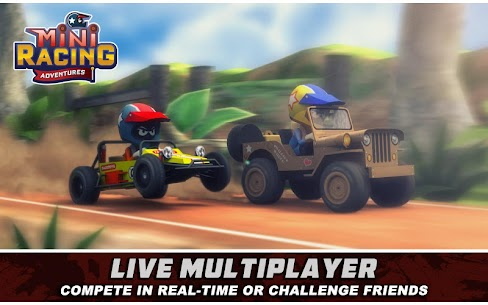 Mini Racing Adventures Mod Apk 1.21.7 (Unlimited Coins) 1