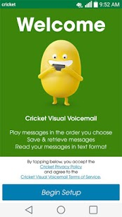 Cricket Visual Voicemail- screenshot thumbnail