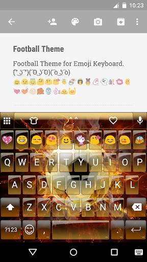 Football World Emoji Keyboard