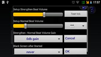 Screenshot of Metronome Pro