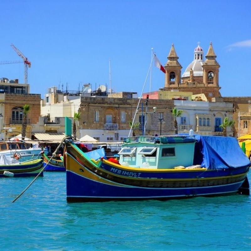 マルタで最もフォトジェニックな漁村、極彩色のマルサシュロックをたずねて