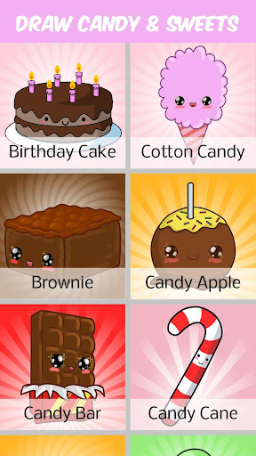 How to Draw Candy and Sweets