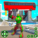 Incredible Monster Hero City Battle New Games 2021 icon