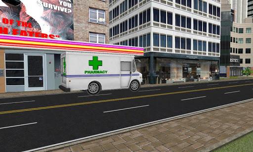藥店送貨卡車辛