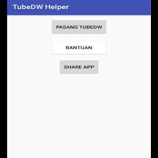 TubeDW Helper - náhled