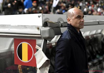 Après le match contre l'Ecosse, Roberto Martinez et son staff ne seront pas encore en congé