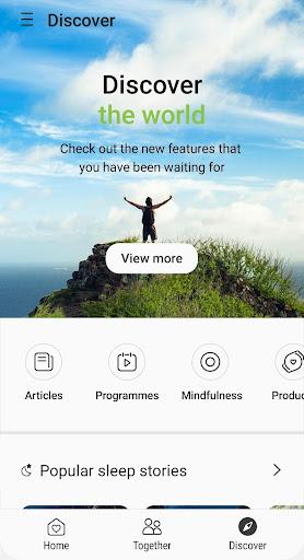 Samsung Health screenshot 4