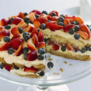 Italian Fruit and Cream Gateau