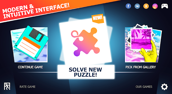 Unlimited Puzzles – free jigsaw for kids and adult 4