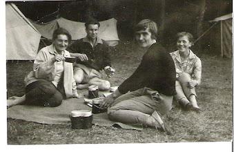 Photo: Obóz w Trelkowie lipiec 1963r. dh.Wanda Wierzbicka (Wierzchowska)
