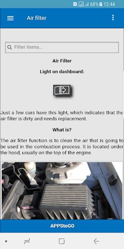 Car Manual - Problems and Repairs  screenshots 3