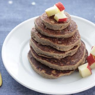 Fluffy Applesauce Pancakes