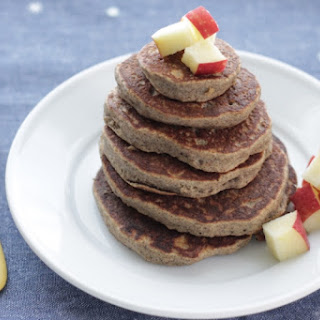 Fluffy Applesauce Pancakes.