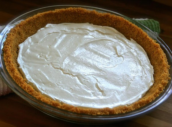 First Layer of Pie: In mixer, beat softened (room temp.) cream cheese and sugar until...