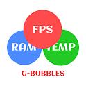 FPS Meter & Crosshair - Gamer Bubbles icon