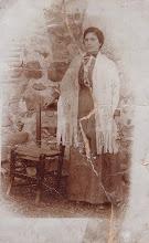 Photo: María LAVILLA-ALDA, esposa VIZARRAGA. (La foto fue tomada al principio del siglo XX en Atea, y enviada a esta web por Manuel Cester)
