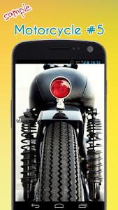Cool Motorcycle Wallpaper screenshot 5