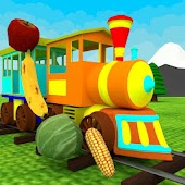 Fruit & Vegetable Train Kids