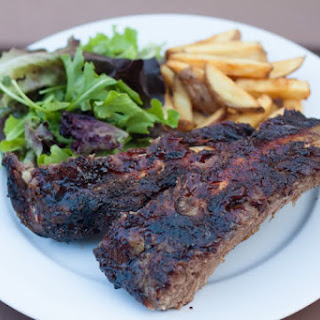 Gas-Grilled Beef Back Ribs.