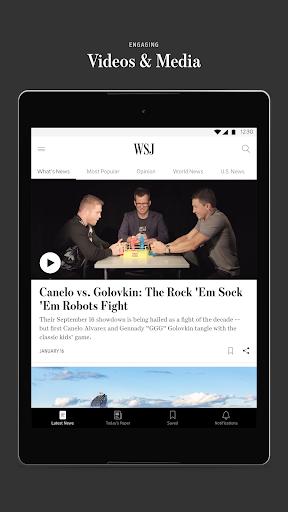 The Wall Street Journal: Business & Market News  screenshots 10