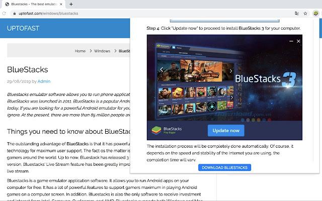 Bluestacks - The best emulator