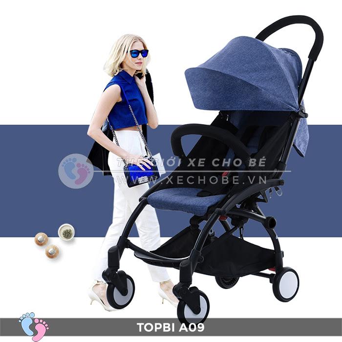 Xe đẩy trẻ em TOPBI A09 4