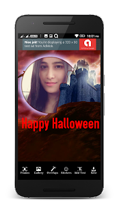 Halloween Costume Photo Frame - náhled