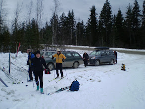 Photo: Landerless Loppet to St.Leon's Hot Spring. The drive is over.