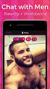 Gay Chat, Meet & Hookup. Chat with Guys - Touché - náhled